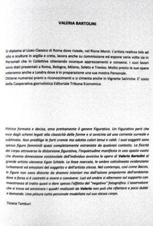 Mostra ' Colori di Donna' Hybrida Contemporanea Roma