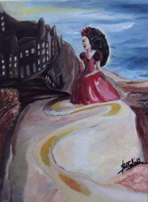 The Gipsy II (seduta sulla roccia)